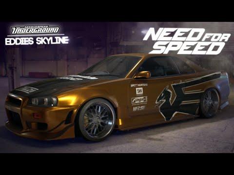 Need for Speed 2015 - EASTSIDERS SKYLINE R34 (Eddie's Skyline - Underground 1)