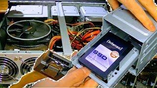 SSD EINBAUEN, ANSCHLIEßEN, EINSTELLEN |DETAIL ANLEITUNG |FESTPLATTE WINDOWS INSTALLIEREN COMPUTER PC