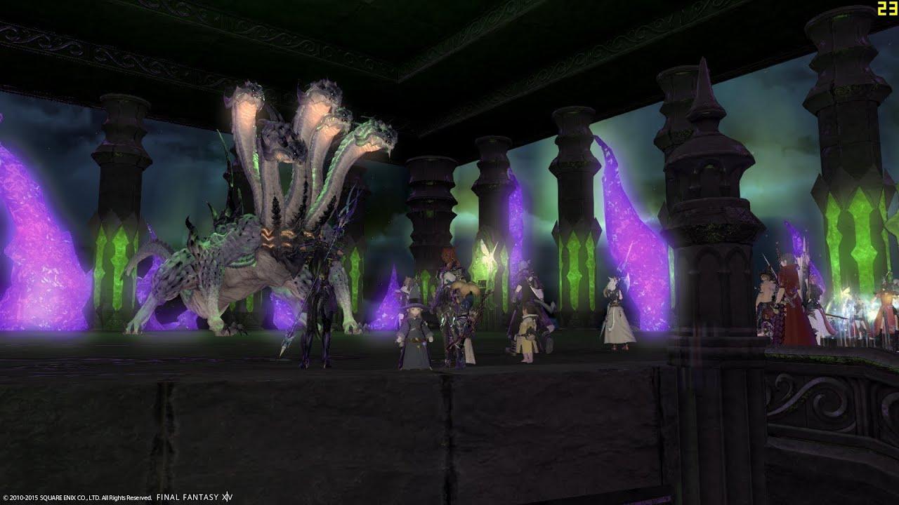[Final Fantasy XIV] The World of Darkness Boss 02 - Five ... - photo#41