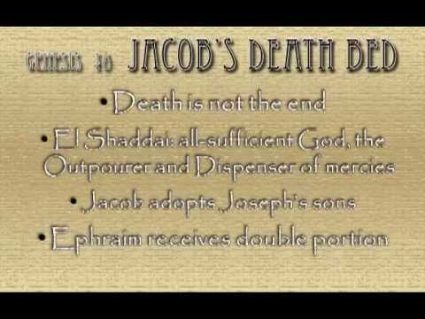 "Genesis 48  ""Jacob's Death Bed"""