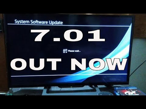 PS4 New Software Update 7.01 | PS4 7.01 System Software Update Install In 5Min