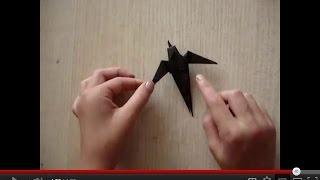 видео Объемные птицы из бумаги. Как сделать птичку из бумаги своими руками?
