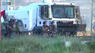 مصر العربية  | إصابة فلسطينيين في مواجهات مع الجيش الإسرائيلي وسط الضفة الغربية