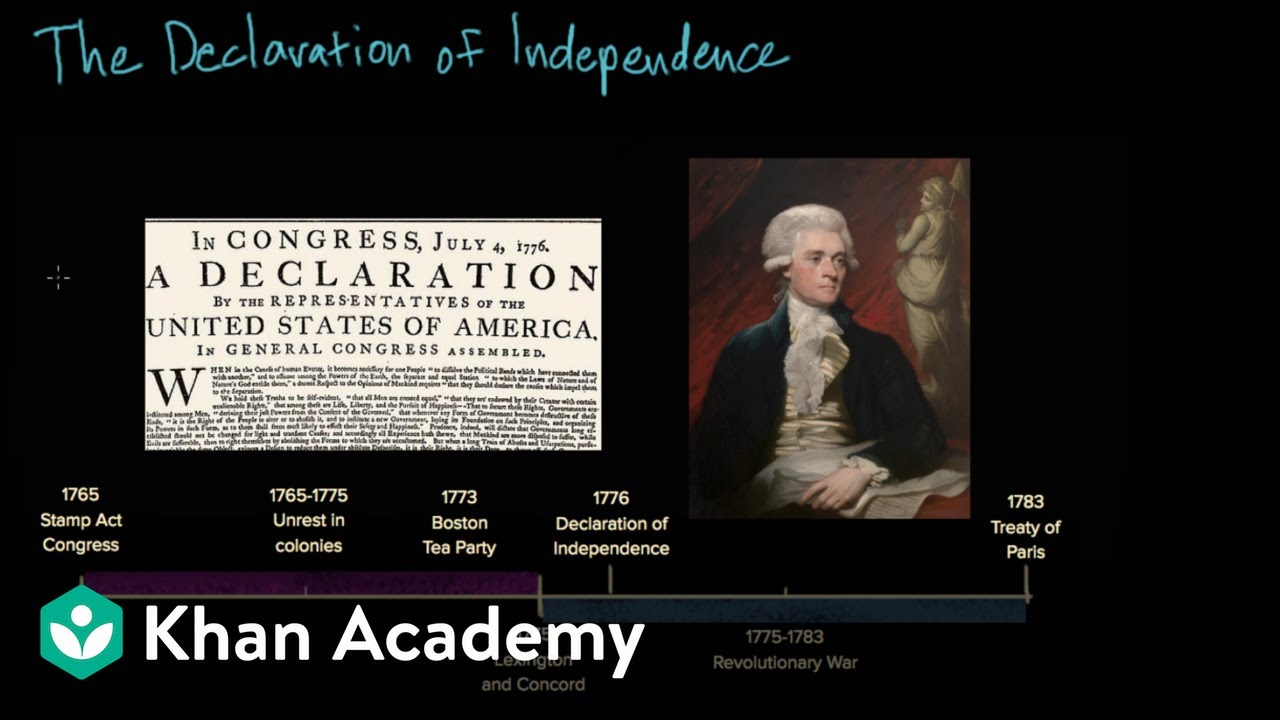 the declaration of independence mp3