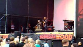 Waterboys - Red Army Blues (partial) at Norwegian Wood 2007-06-16