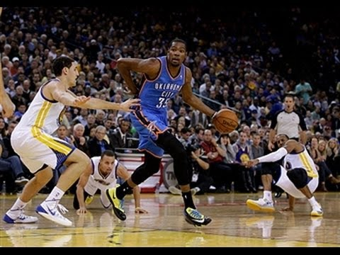Kevin Durant Crosses Up Andre Iguodala in Slow Motion