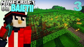 Minecraft ca Baietii - Ferma Cu De Toate! [Ep.3] w/ xSlayder & iRaphahell