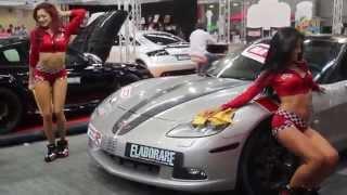 Car Wash Supercar Auto Show - Hot Girls Dancing Video