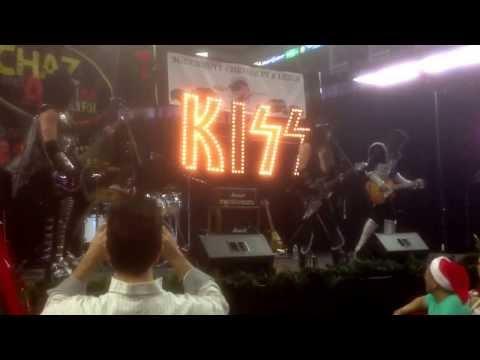 Kiss Alive..Detroit Rock City.. @ WPLR Chaz & AJ Toy Drive.. Bridgeport, CT 12/6/13
