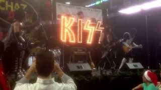 Kiss Alive..Detroit Rock City.. @ WPLR Chaz & AJ Toy Drive.. Bridgeport, CT 12/6/13