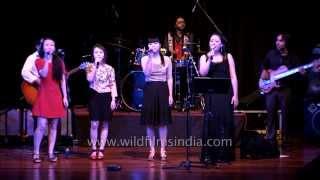 Ao Naga Choir sing Landslide (Stevie Nicks) at Rashtrapati Bhavan