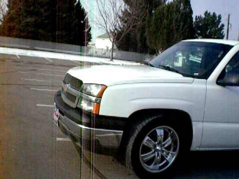 2003 Chevy Silverado 1500 with 20 inch rims - YouTube
