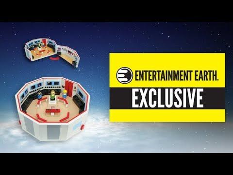Star Trek: The Original Series Pin Mate Wood Enterprise Bridge Set - Entertainment Earth Exclusive - YouTube
