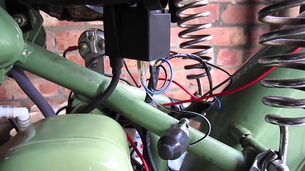 maxresdefault bsa bantam d1 electrex ignition youtube electrex world wiring diagram at fashall.co
