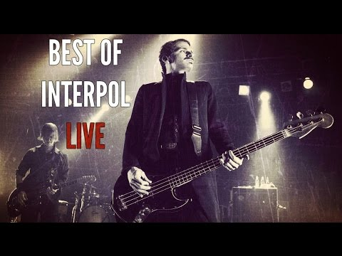 BEST OF INTERPOL LIVE PERFORMANCES (2001-2015)