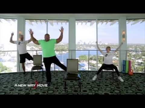 Cardio Exercises for Seniors that are fun. Aerobics for seniors. Senior fitness. Low impact exercise