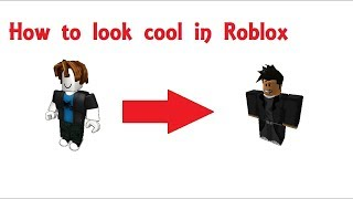 How to look cool on roblox (FIRST OUTFIT FREE) second robx