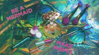 be a mermaid and make waves collection | tarte cosmetics