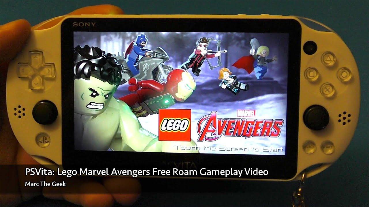 Psvita Lego Marvel Avengers Free Roam Gameplay Video 4 Youtube