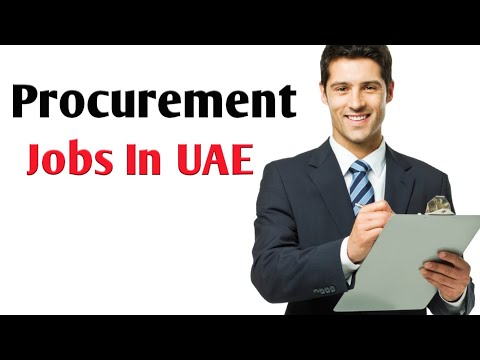 Procurement Jobs In Dubai   Dubai Jobs 2020