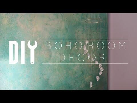 DIY Boho Crystal Room Decor // Subscriber Request