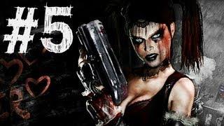 Batman Arkham City - Harley Quinn's Revenge - Gameplay Walkthrough - Part 5 - HANG 'EM HIGH