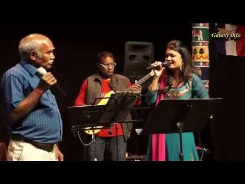 super singers performance in France Tamil cultural Association 2015