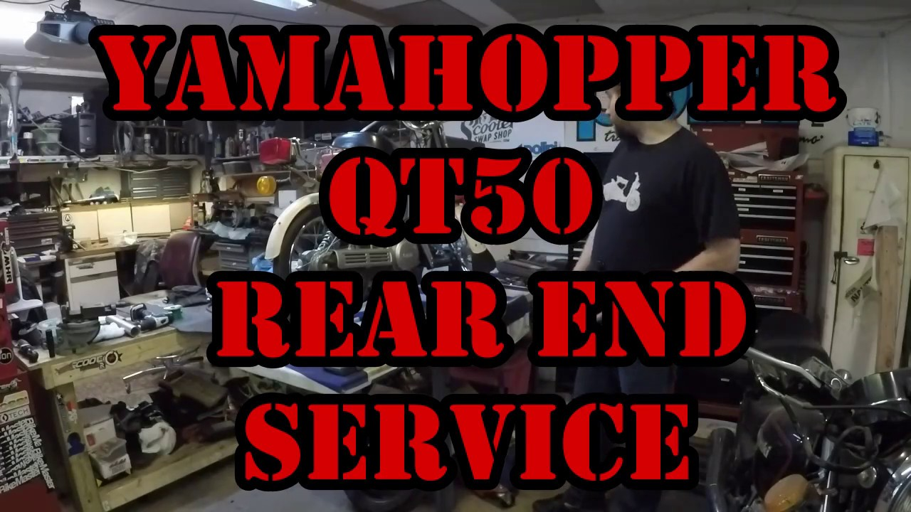 Qt50 shaft drive failure — Moped Army