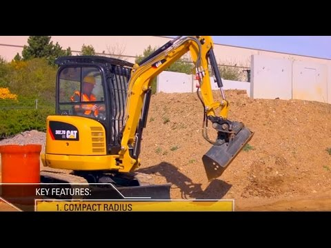 10 Reasons to Buy a Cat® 302 7D CR Mini Excavator