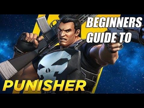 Punisher Beginners Guide - Marvel Ultimate Alliance 3 (MUA3)