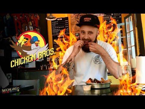 Bajoneando Pollo Frito en Chicken Bros