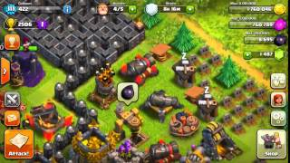 CLASH OF CLANS - BLUE INFERNO TOWER LVL 4 UPDATE!