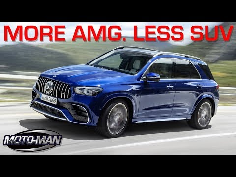 More AMG. Less SUV: 2021 Mercedes AMG GLE 63 S