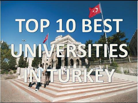 Top 10 Best Universities In Turkey/Top 10 Mejores Universidades De Turquía