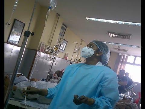 Emergency Ward in PGI Chindigarh (India)