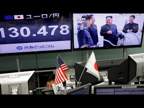 World Stocks Dip, Yen Gains After North Korea Nuclear Test