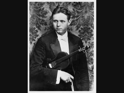 Adolf Busch -Brahms Violin Concerto 1rst mvt Part 1/3