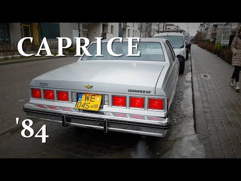 1984 CHEVROLET CAPRICE V8 5.0 For Sale Warszawa 28.01.2018