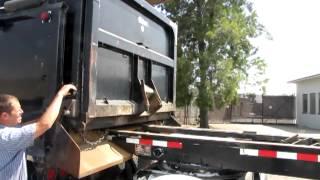 2003 Peterbilt 379 Dump Truck with 2004 Reliance Transfer Trailer