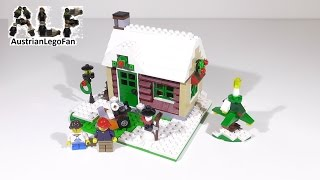 Lego Creator 31038 Changing Seasons Model 3of3 - Lego Speed Build Review
