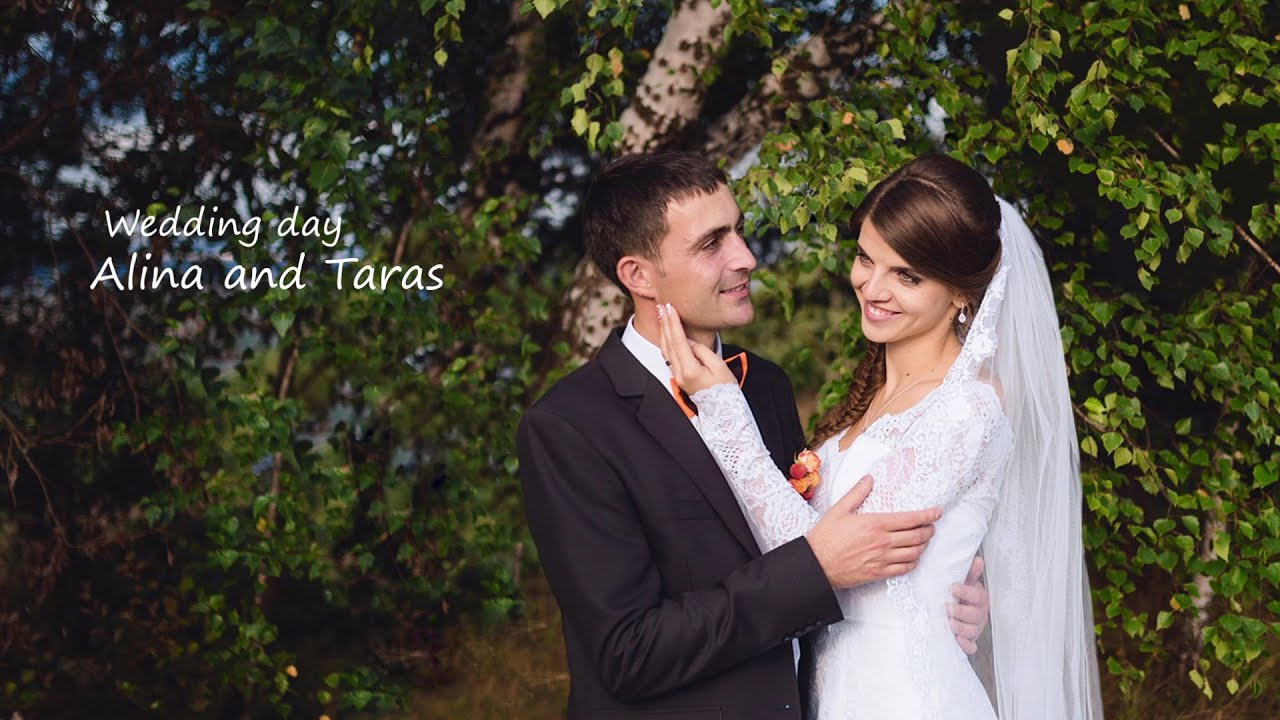 Taras & Alina (Wedding clip) - YouTube