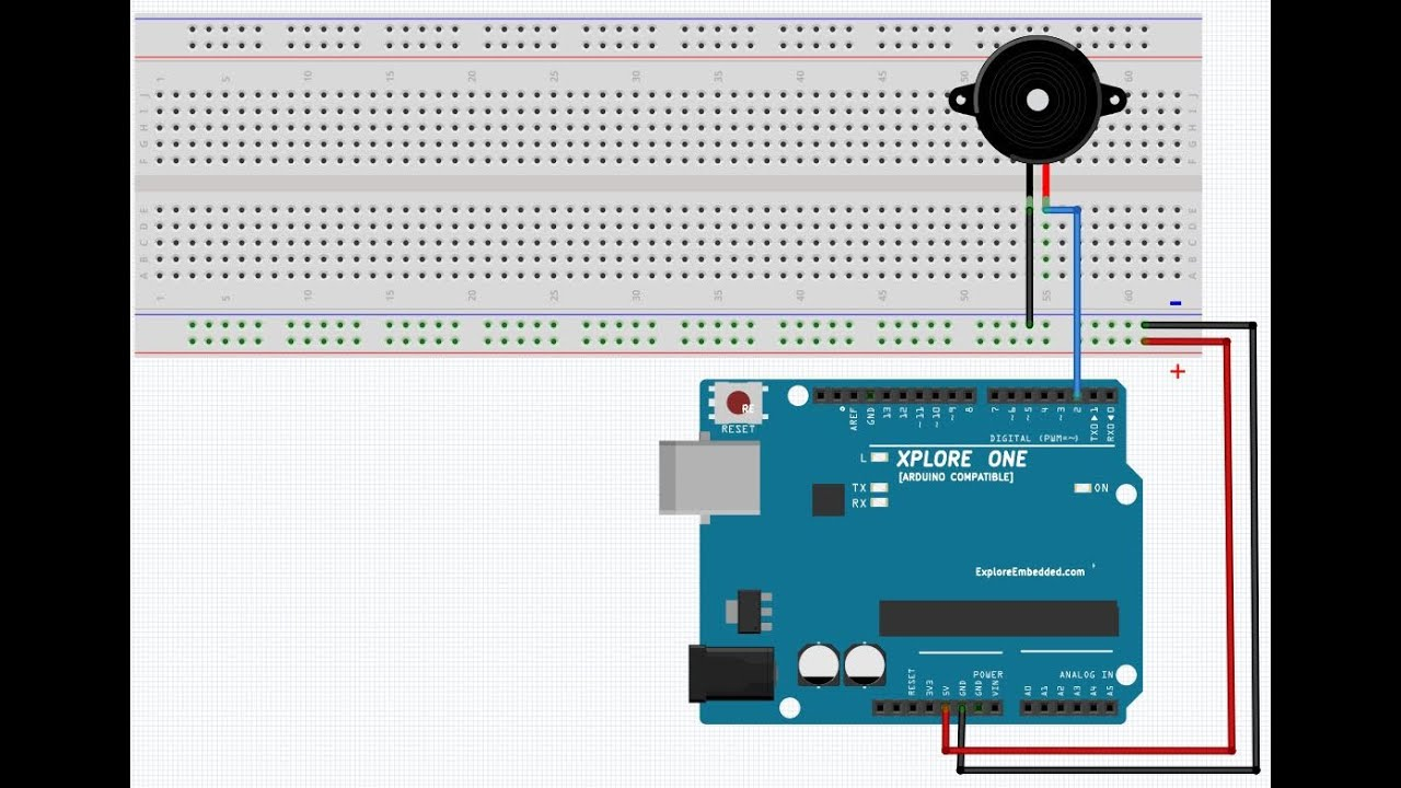 Interfacing Buzzer To Arduino Youtube