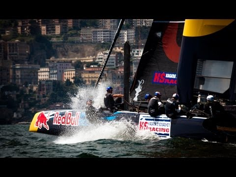 Sailing in Naples - America's Cup World Series Regatta 2013