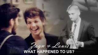 zayn & louis (zouis) | what happened to us?