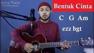 Download lagu Chord Gampang (Bentuk Cinta - ECLAT) by Arya Nara (Tutorial Gitar) Untuk Pemula