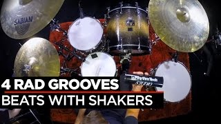 4 Grooves with Shakers | Garrett Goodwin | Percussion Drum Lesson