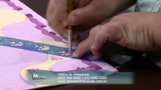 Pintura Barrado Duplo por Lucia Luzzi – Parte 2