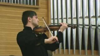 J.S.Bach - Sonata No.2 in A, BWV 1015 (Andante,Allegro assai).avi