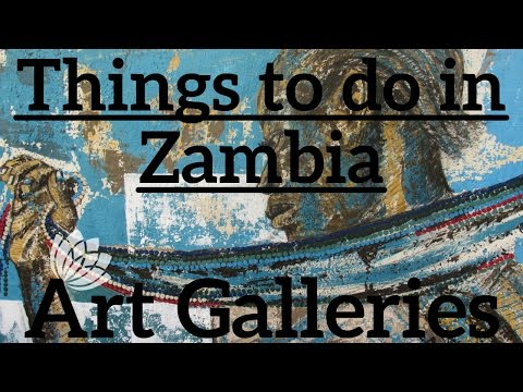 Things To Do In Zambia: Art Galleries