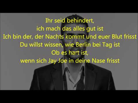 Bushido - Berlin (Lyrics on Screen)